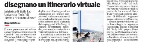 nITro @ Gazzetta del Sud: Cultura ed emozioni a Tusa